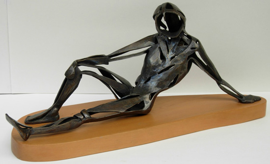 Wendy Bailey bronze sculpture Interlude 550