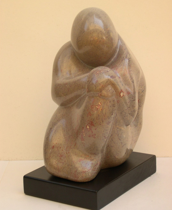 Wendy Bailey soapstone sculpture Reflections 550